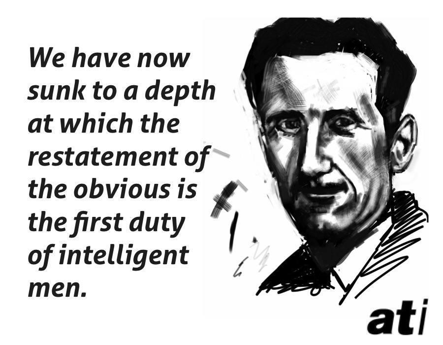 George Orwell On Intelligent Men