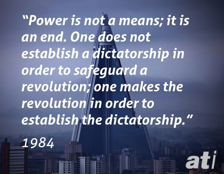 Orwell On Revolutions And Dictatorships