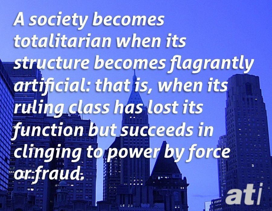 George Orwell On The Ruling Class