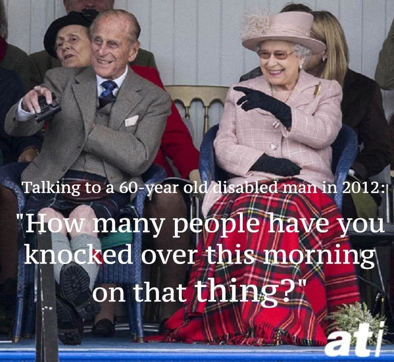 Prince Philip Quotes Disabled