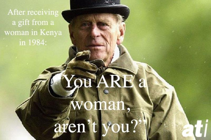 Prince Philip Quotes Woman