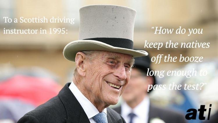 Prince Philip Quotes Top Hat