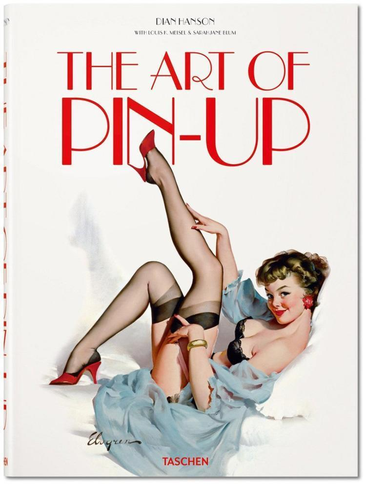 pinup history art book