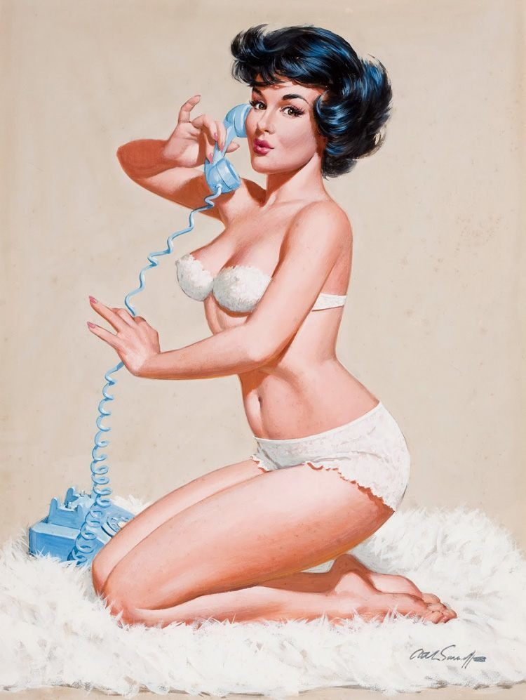 pinup history retro artists