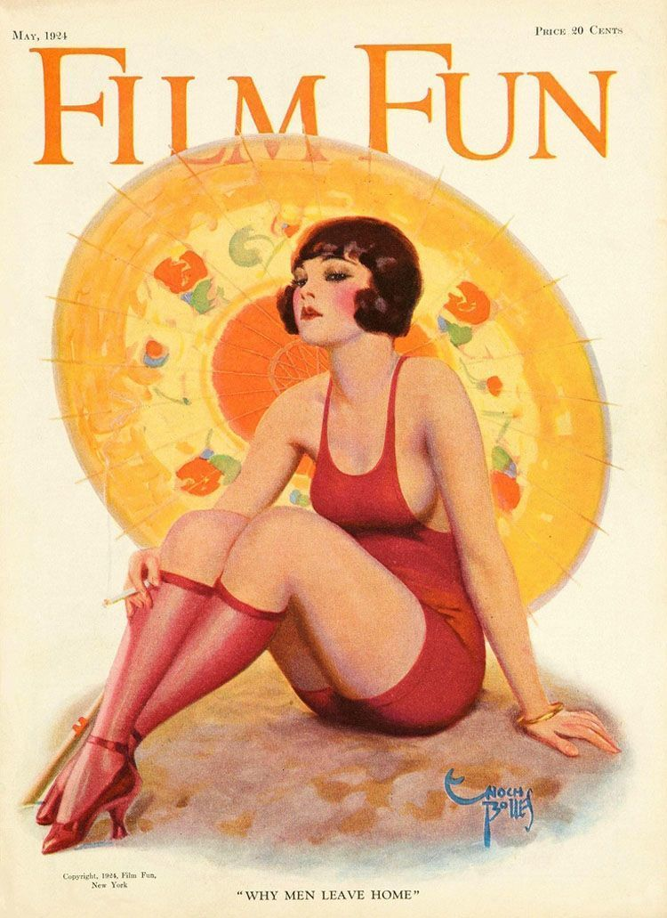 Pin-Up Girl From The 1920s