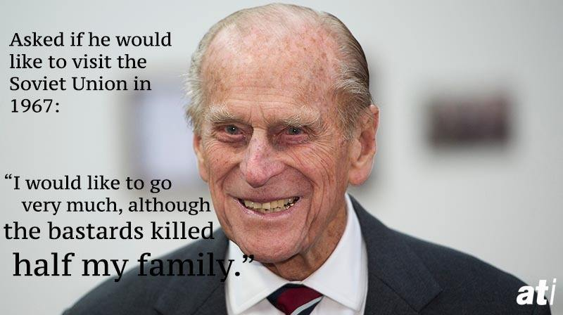 Prince Philip Quotes USSR