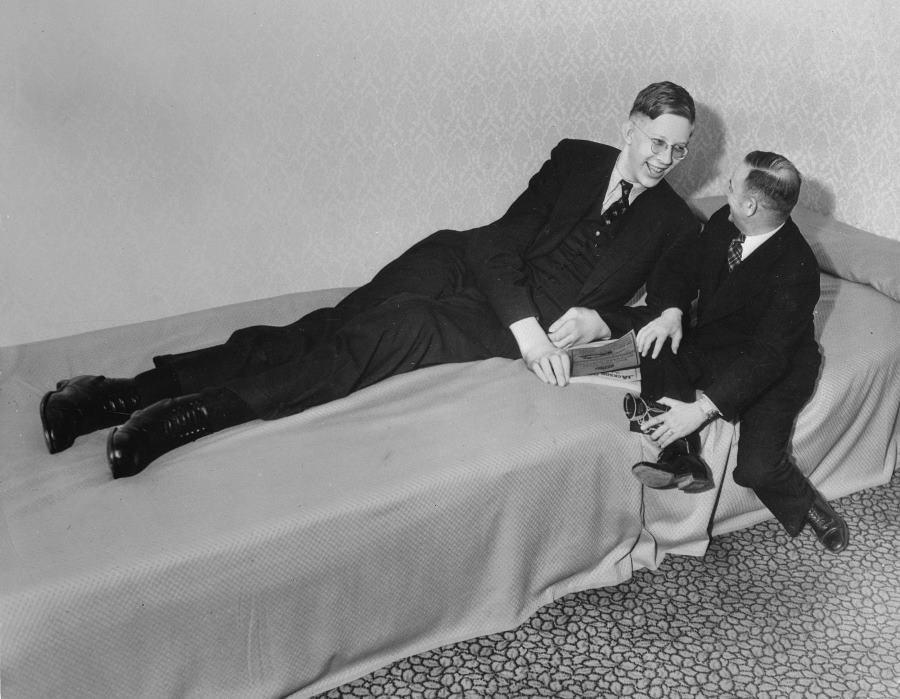 Robert Wadlow Tallest Person