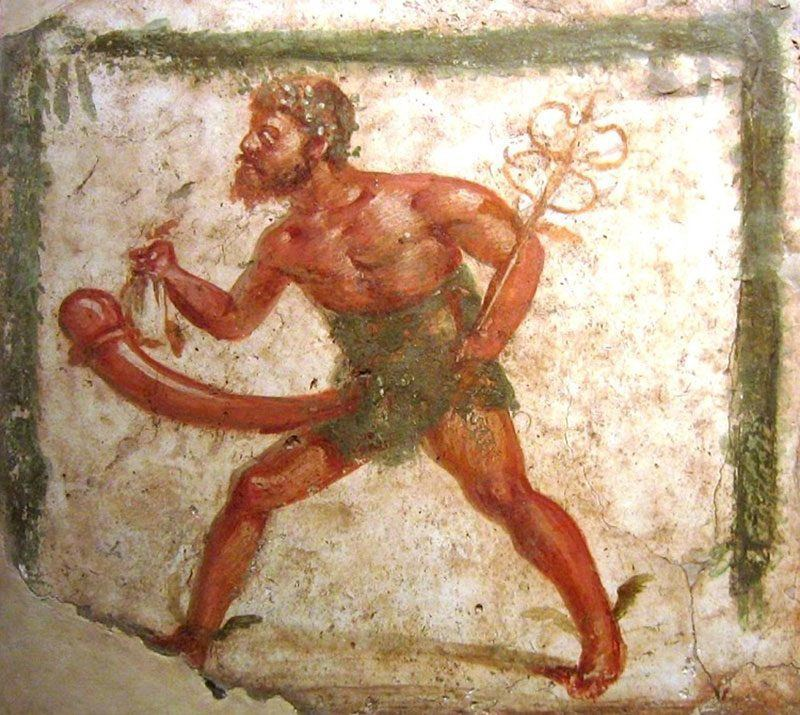 Mercury Erotic Art Pompeii