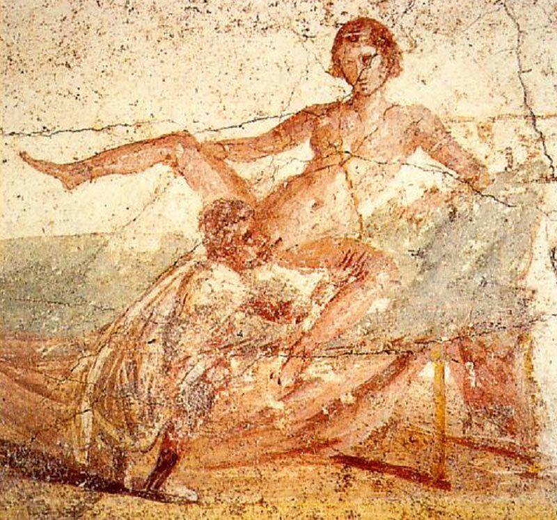 Sex Art Survives in Pompeii