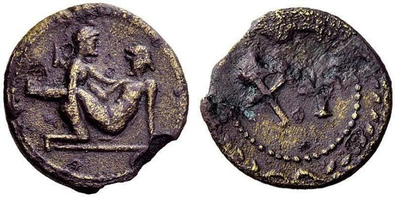 Spintria Brothel Coins