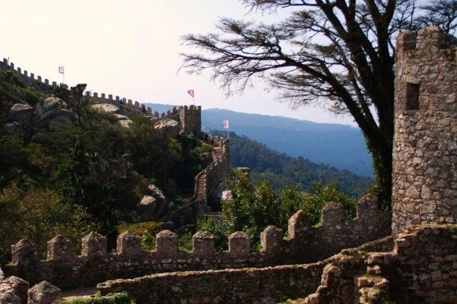 Islamic Castle In Sintra