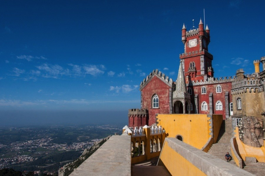 The Red Tower Of Sintra Portugal