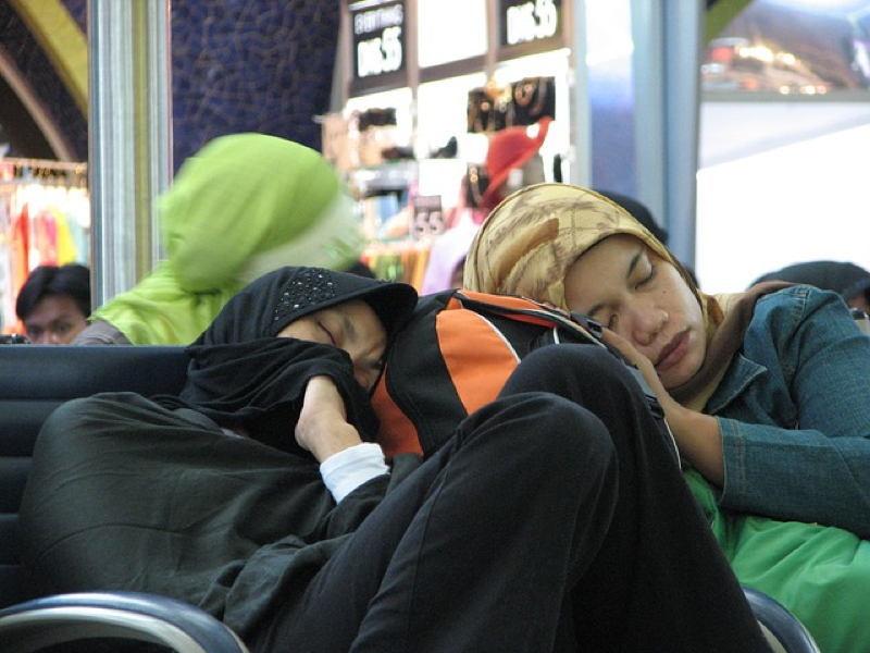 Sleeping Town In Kazakhstan