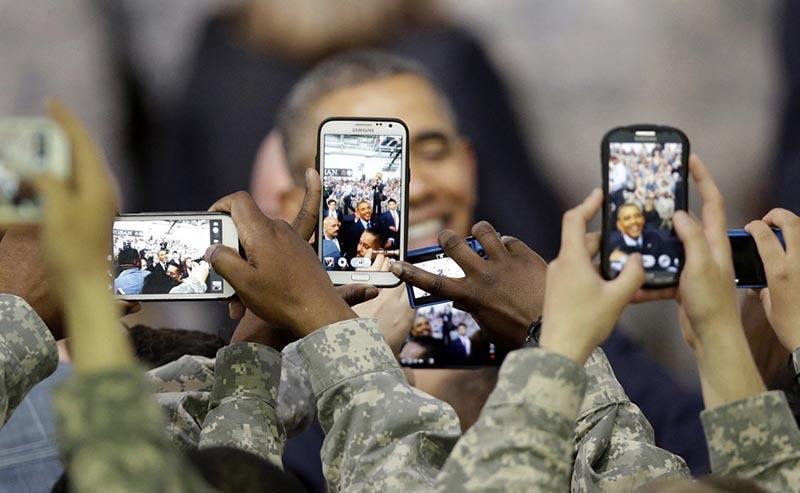 Smart Screens Obama