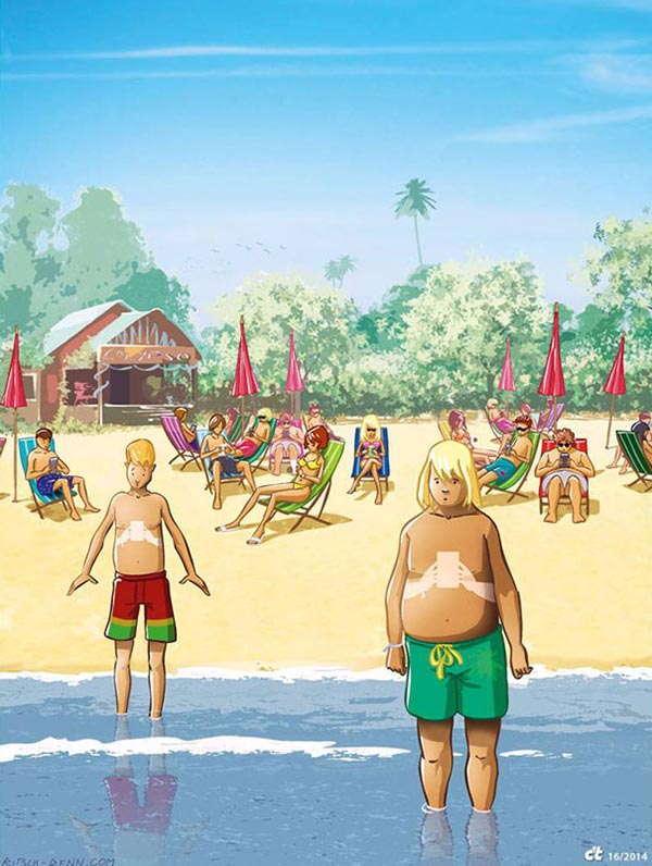 Smartphones Cartoons Tans