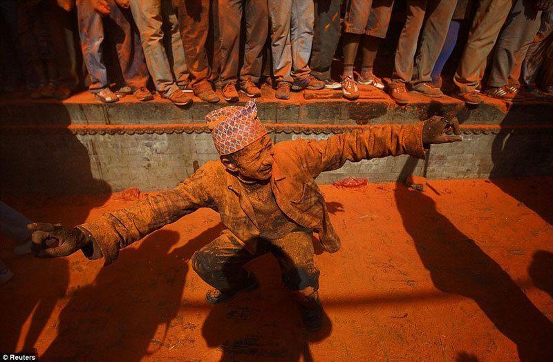 Sindoor Jatra Festival Dancing