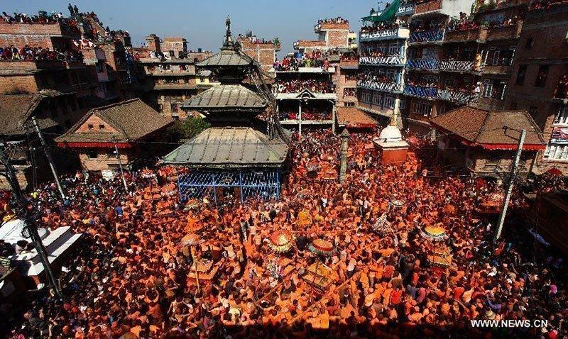 Sindoor Jatra New Year Festival