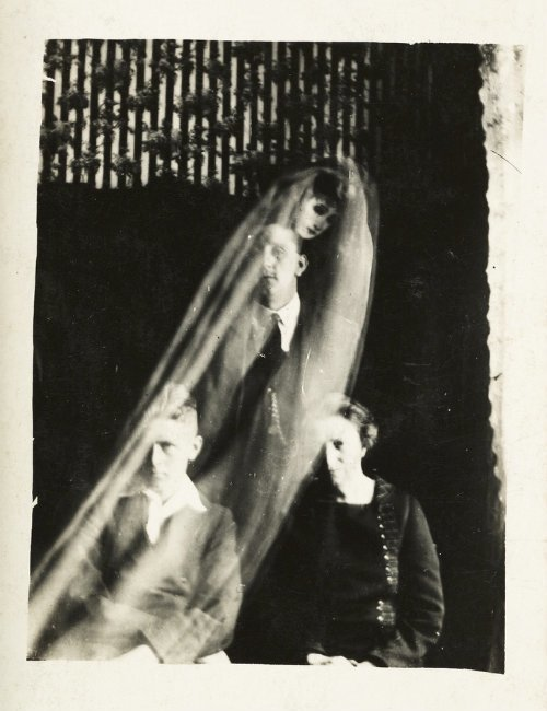 Spirit Photography Female Ghost