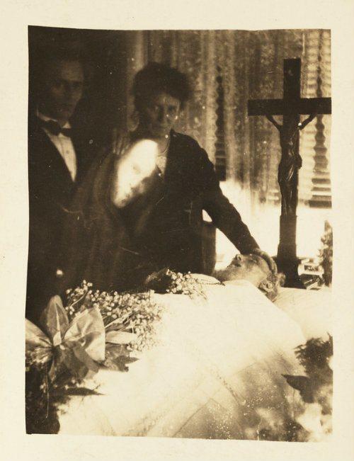 Spirit Photography Mourning