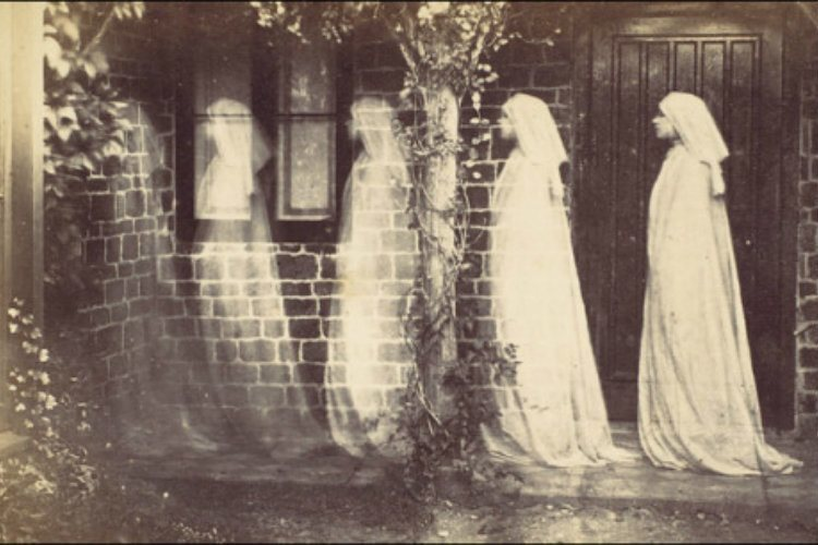 Spirit Photography Ghost Woman