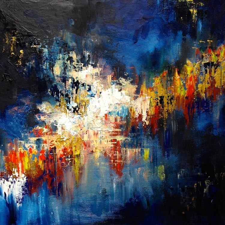 synesthesia paintings gravity