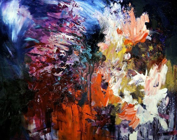 synesthesia paintings interlude II