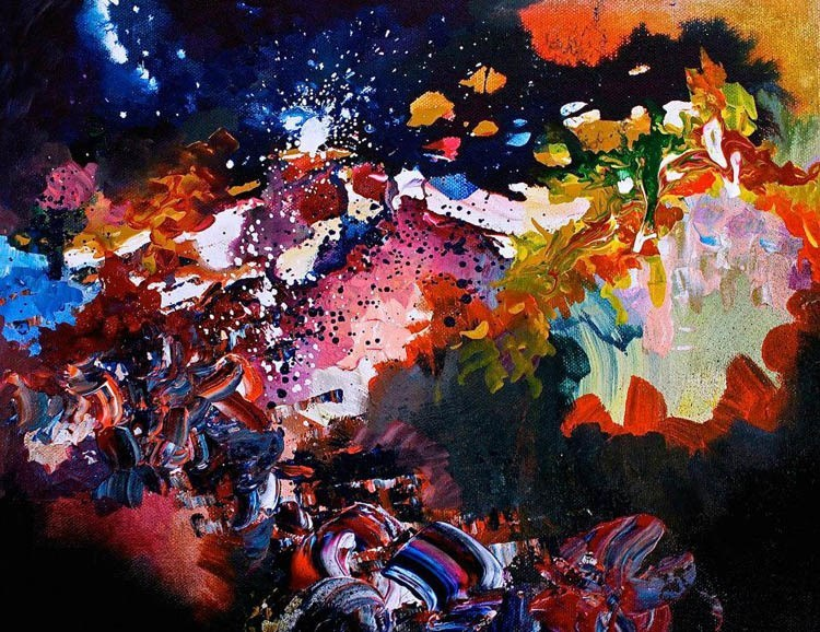 synesthesia paintings karma police