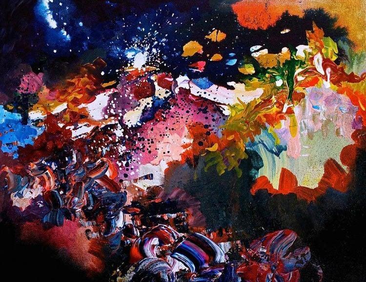synesthesia paintings karma police