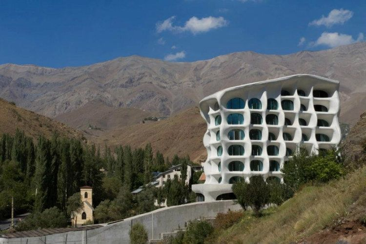 Tehran Architecture Barin Mountain View