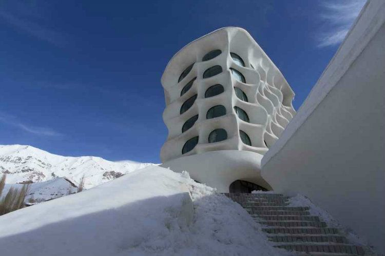 Tehran Architecture Ski Resort