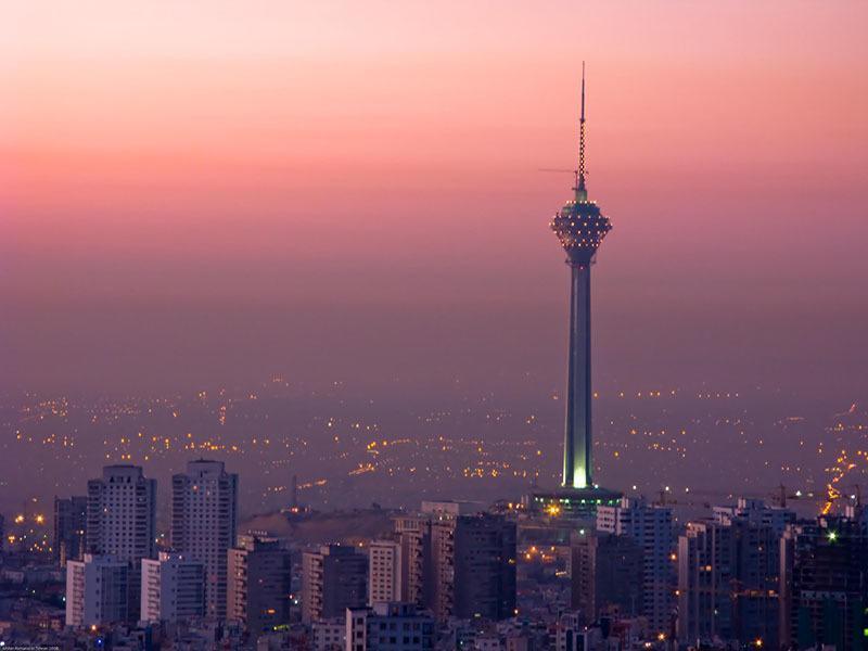 Tehran Architecture Cityscape