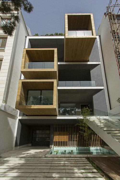 Tehran Architecture Moving House Open