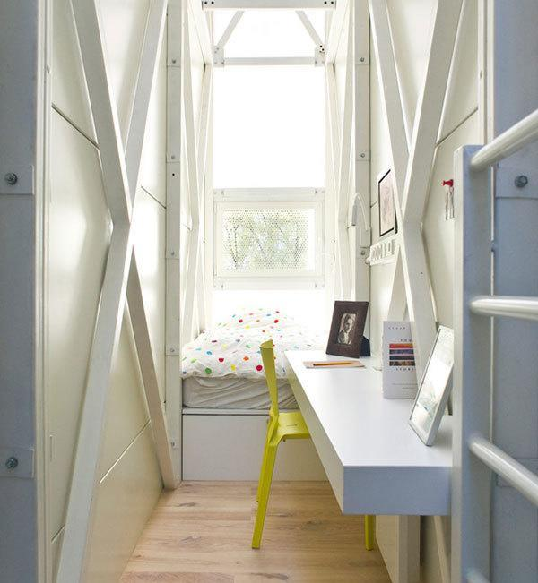 Thinnest Bedroom in the World