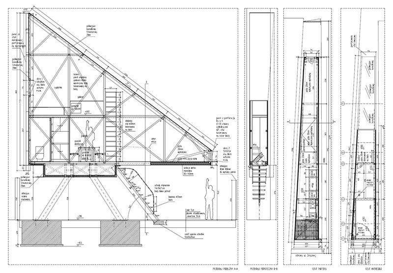 Keret House Floor Plan Tiny Homes
