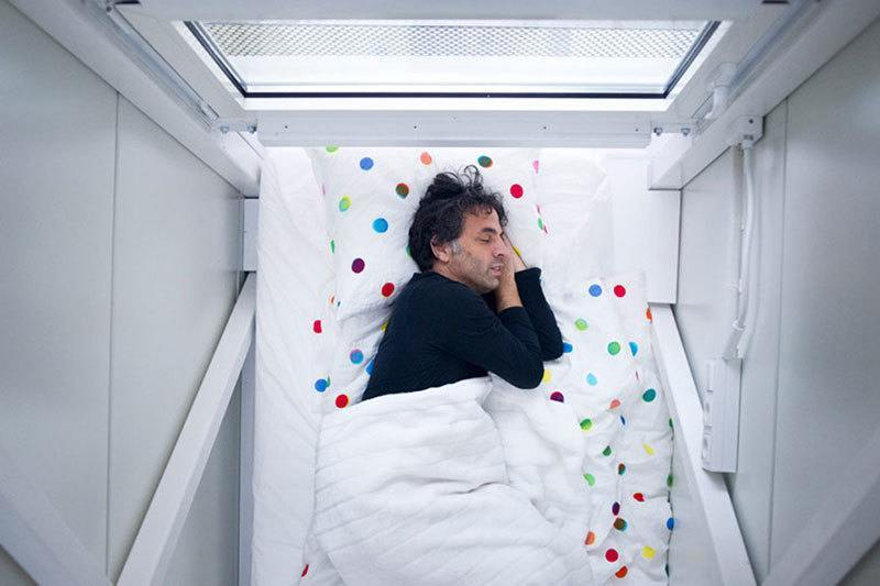 Keret House Sleeping Quarters