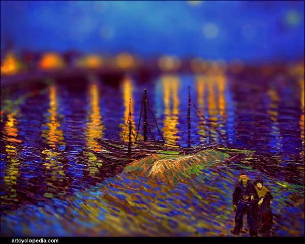 Van Gogh Tributes Boar