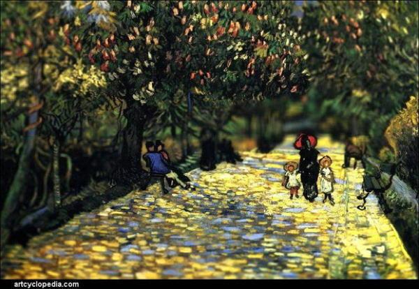 Van Gogh Tributes People Park
