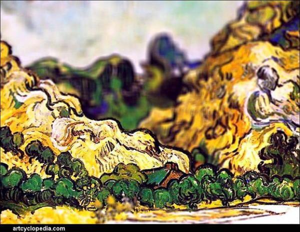 Van Gogh Tributes Rolling Hills
