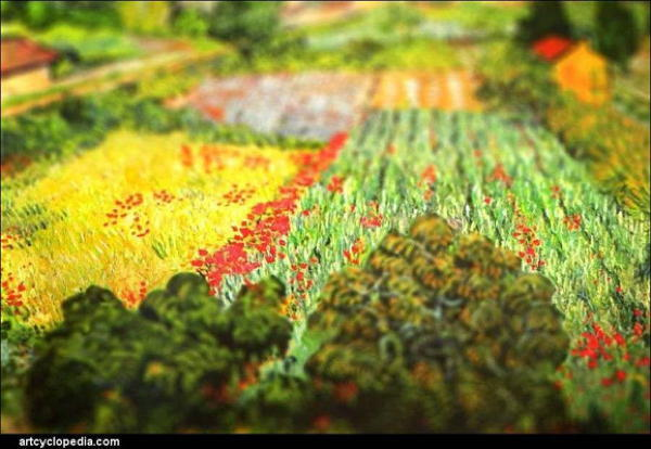 Van Gogh Tributes Flowers