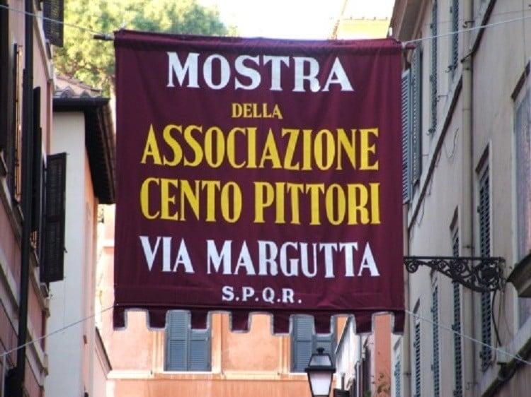Via Margutta 100 Painters