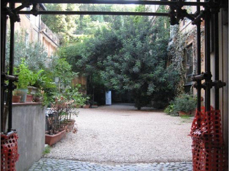 Via Margutta Courtyard