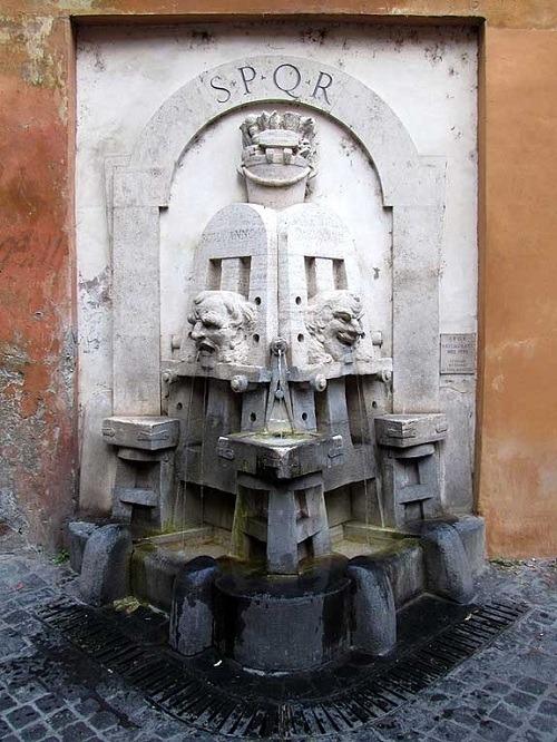 Fountain Faces