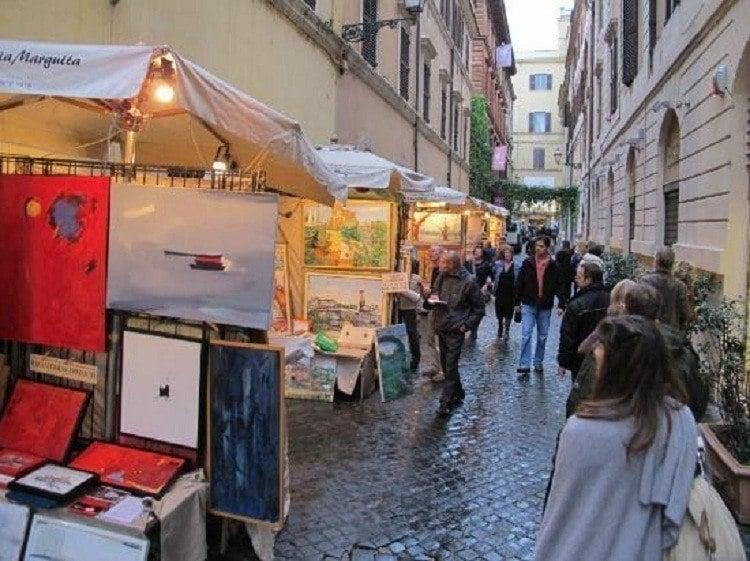 Via Margutta More Paintings