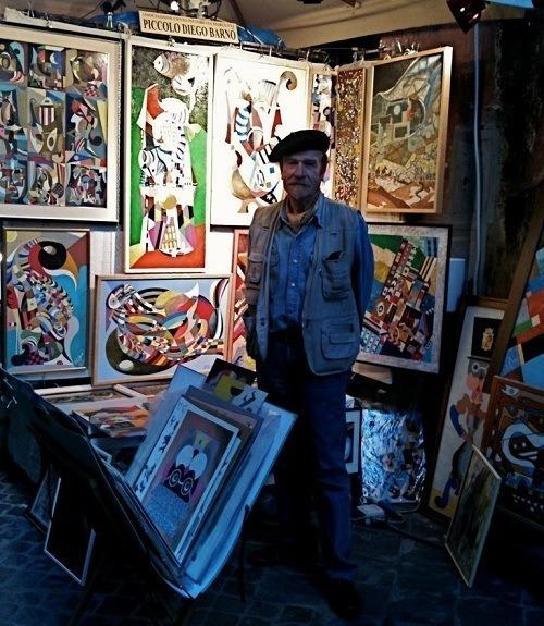Painter On Street