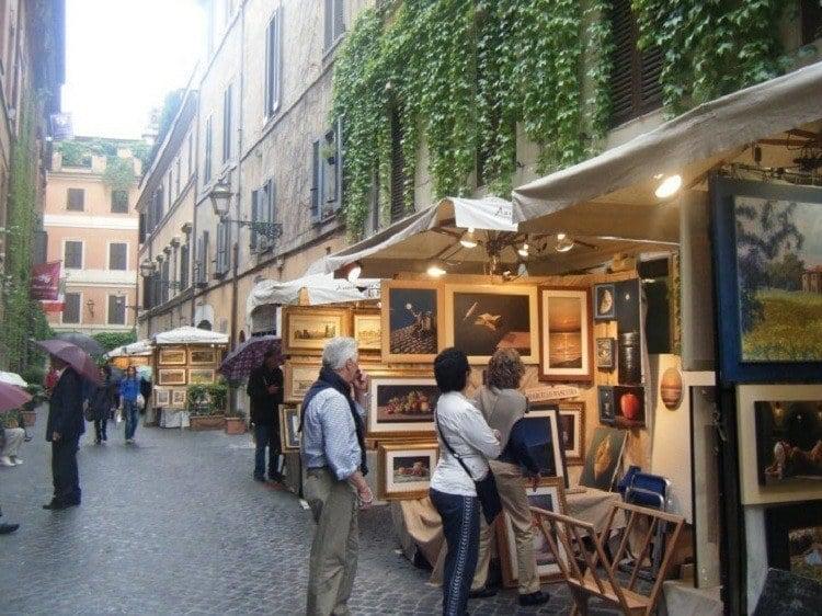 Paintings On Street