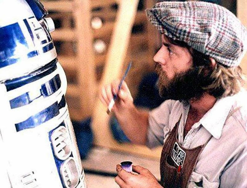 Behind-the-Scenes Star Wars R2D2