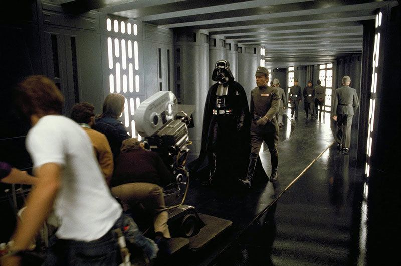 Behind-the-Scenes Star Wars Pictures