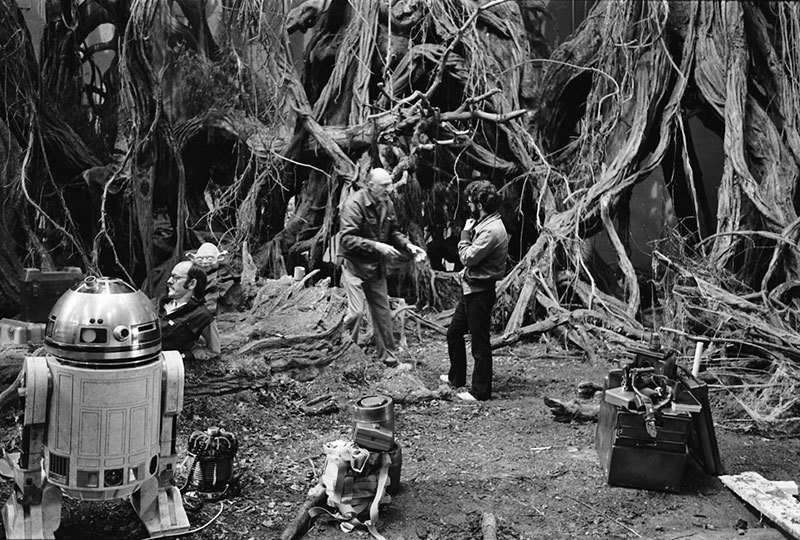 Filming Of Empire Strikes Back