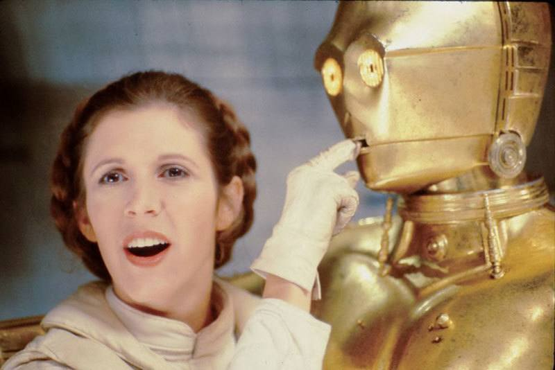 Princess Leia And C3PO