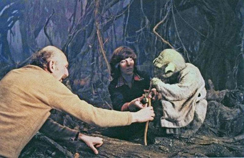 How They Filmed Yoda In Star Wars